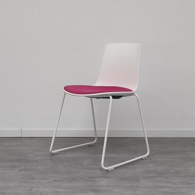 Chaise Enea Lottus Blanc / Rose