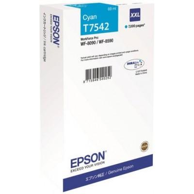Epson Encre cyan XXL 7000p. T7542