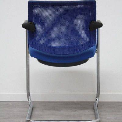 SESTA Q-Easy luge Bleu / Chromé
