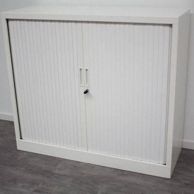 Armoire Basse L120 H105 Blanc