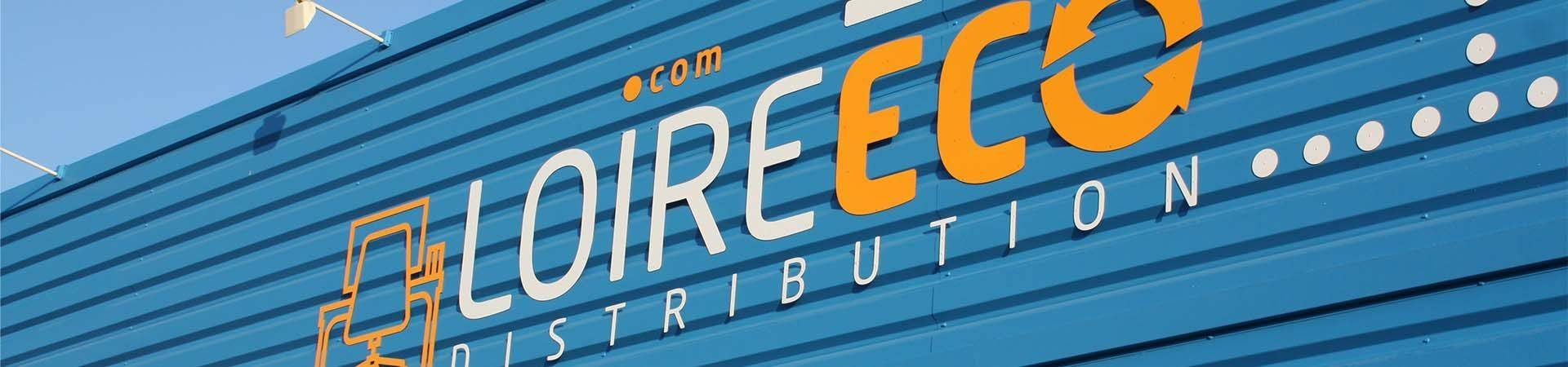 Façade magasin Loire Eco Distribution