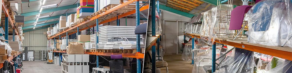 grande capacité de stockage de mobilier de bureau Loire Eco Distribution