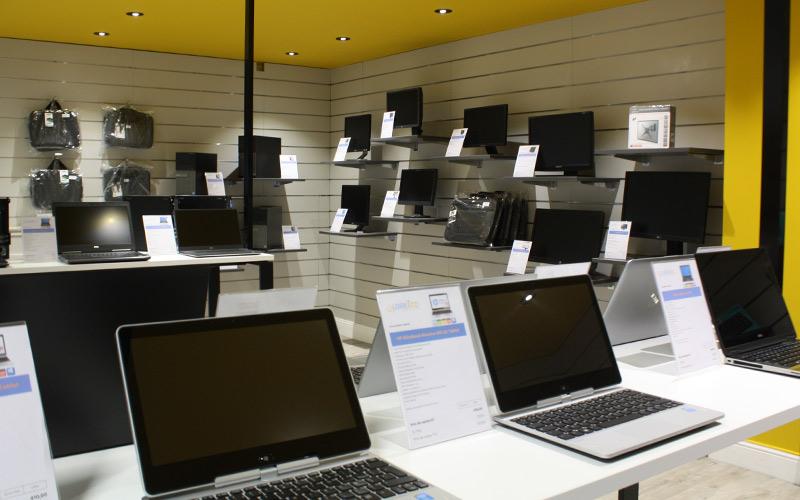 Un showroom proposant du matériel informatique sur Angers